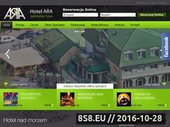 Miniaturka Pokoje i apartamenty (www.arahotel.pl)