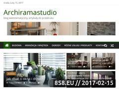 Miniaturka archiramastudio.pl (Publikacje o budowie i ogrodach aranżącji wnętrz)