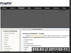 Miniaturka domeny archiwum.progpol.pl