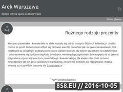 Miniaturka arek.waw.pl (Strona lokalnego przedszkola)