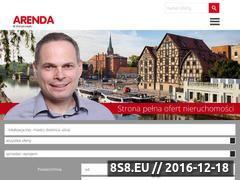 Miniaturka domeny www.arenda.com.pl