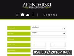 Miniaturka domeny www.arendarskinieruchomosci.pl