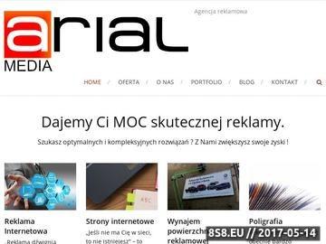 Zrzut strony Agencja Reklamowa Leszno