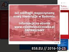 Miniaturka domeny www.arkadadevelopment.pl