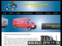 Miniaturka domeny www.arkadiusz-przeprowadzki.com.pl