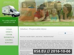 Miniaturka domeny www.arkadiusz-przeprowadzki.pl