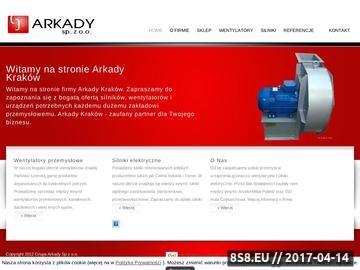 Zrzut strony Arkady Kraków