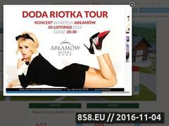 Miniaturka domeny www.arlamow.pl