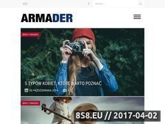 Miniaturka armader.pl (Armader - Portal dla mężczyzn)