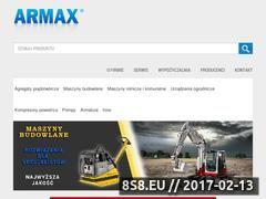 Miniaturka domeny www.armax.com.pl