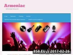 Miniaturka domeny armeniac.pl