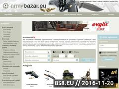 Miniaturka domeny www.armybazar.eu