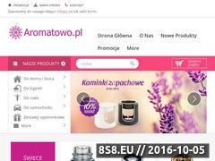 Miniaturka Oferujemy pachnące produkty do domu i kąpieli (aromatowo.pl)