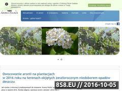 Miniaturka www.aroniapolska.pl (Zrzeszenie plantatorów aronii w Polsce)