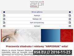 Miniaturka domeny www.arpidruk.com.pl