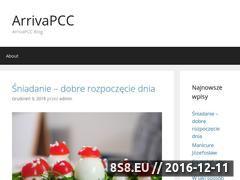 Miniaturka domeny www.arrivapcc.pl