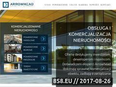 Miniaturka arrowhead.pl (Komercjalizacja nieruchomości)