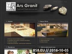 Miniaturka domeny www.arsgranit.pl