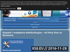 Miniaturka domeny www.arso.pl