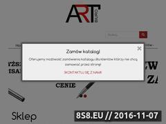 Miniaturka domeny www.art-biuro.pl