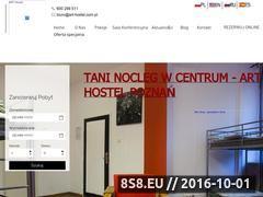 Miniaturka www.art-hostel.com.pl (Nocleg, kwatery pracownicze i sala konferencyjna)