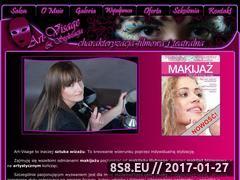Miniaturka domeny www.art-visage.pl
