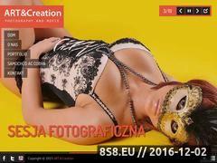 Miniaturka domeny www.artandcreation.pl