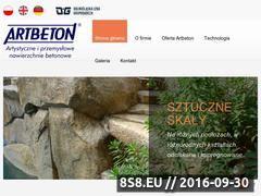 Miniaturka domeny www.artbeton.pl