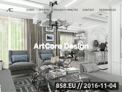 Miniaturka domeny www.artcoredesign.pl
