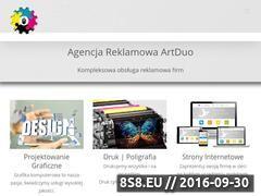 Miniaturka domeny artduo.pl