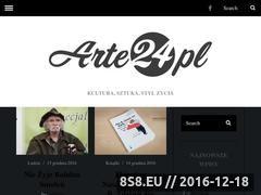 Miniaturka Portal internetowy (www.arte24.pl)