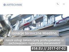 Miniaturka artechnikizolacje.pl (ARTECHNIK Izolacje)