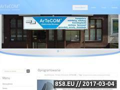 Miniaturka domeny www.artecom.pl