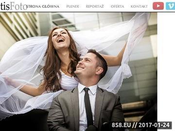 Zrzut strony Fotograf ślubny Gdańsk