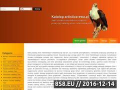 Miniaturka domeny artistica-ewa.pl