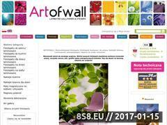 Miniaturka domeny www.artofwall.com.pl