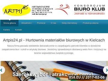 Zrzut strony Materiały biurowe Kielce