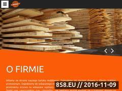 Miniaturka Cięcie drewna trakiem przewoźnym, u Kienta (www.artrak.pl)