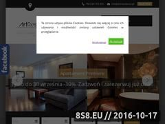 Miniaturka domeny artresidence.pl