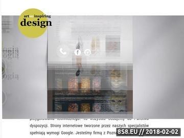 Zrzut strony Tworzenie stron internetowych Poznań