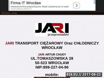 Zrzut strony Przeprowadzki Wrocław