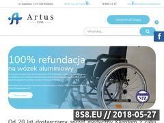 Miniaturka www.artus.klodzko.pl (Wyposażenie medyczne)