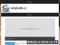 Miniaturka domeny www.artykulik.pl