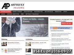 Miniaturka Publikowanie artykułów (artykuly-prasowe.pl)