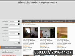 Miniaturka domeny www.arum-nieruchomosci.pl