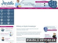 Miniaturka domeny arystokorepetycje.pl