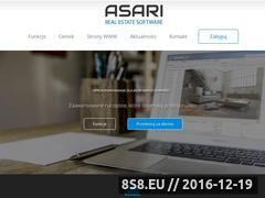Miniaturka domeny www.asari.pl
