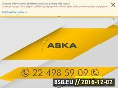 Miniaturka domeny www.aska.com.pl