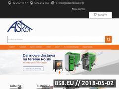 Miniaturka askot.krakow.pl (Askot skład materiałów budowlanych Kraków)