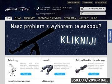 Zrzut strony Astrozakupy.pl - teleskopy vixen